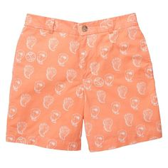 The Shucker Short in Coral by Southern Proper