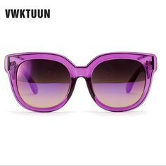 1ba0a767ddf0d VWKTUUN Cat Eye Sunglass Women Vintage Elegant Sun Glasses For Women  Gradient Glasses Oversized Sunglasses Female