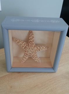 DIY How to Make a Shadow Box Frugal Gift Holiday Idea