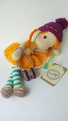 #amigurumi #crochet #doll amigurumis amigurumi crochet doll stuffed toy etsy #etsy