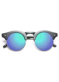 Corsica Designer Inspired Split Frame Sunglasses