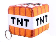 Minecraft TNT Plush Block