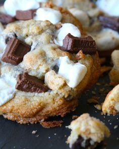 Dish S'mores Cookies / Sweet Paul