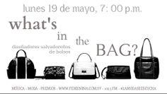 ¿Eres amante de los bolsos? El Salvador ha crecido en el número de diseñadores nacionales de este complemento indispensable! Esta noche conoceremos a algunos de los más exitosos! Tienes una cita en Radio Femenina 102.5 esta noche, de 7:00 a 8:00 P.M. #LaModaSeEscucha con Maggie Cortez en Trend Studio FM