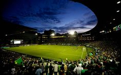 Jeld Wen Field -- home of the Portland Timbers