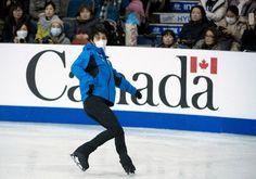落ち着く羽生、動きに切れ スケートカナダ前日練習