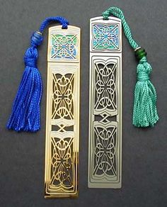 Celtic Metal Bookmarks