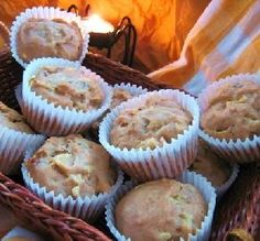 """Apple & Toasted Pecan Muffins: """"These muffins are so good with a little cinnamon sugar sprinkled on top."""" -SrtaMaestra"""