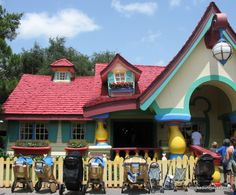 Mickey Mouse's House