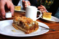 Apfel-Florentiner-Kuchen! #Sonntagssüß