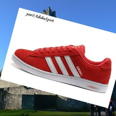 separation shoes 5e683 52020 Red White - Adidas NEO Derby Suede men Shoe,HOT SALE!