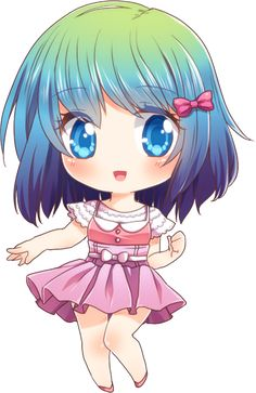 CHIBI ANIME GIRL