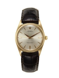 Rolex Oyster Perpetual Chronometer Watch (c. 1961) by Vintage Watches on Gilt