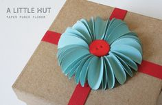 DIY Paper Punch Flower