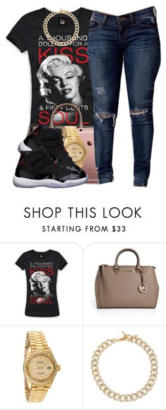 """""""122115"""" by polyvoreitems5 ❤ liked on Polyvore featuring MICHAEL Michael Kors, Rolex, Freaker and Michael Kors"""