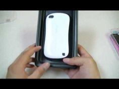 Snap-on Hard Plastic iPhone Case Open Box Review