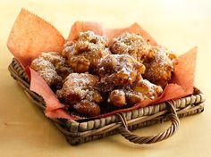 A Bisquick Favorite! Apple Cinnamon Fritters -- a special treat during the Fall