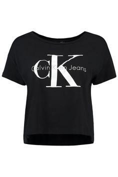 Dit t-shirt van Calvin Klein is van 100% katoen. Dit model heeft