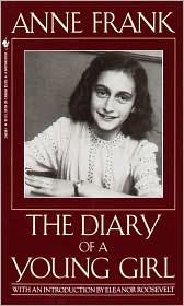 "Anne Frank: The Diary of a Young Girl "" Discovered in the attic in which she spent the last years of her life, Anne Frank's remarkable diary has since become a world classic—a powerful reminder of the horrors of war & an eloquent testament to the human spirit. In 1942, with Nazis occupying Holland, a 13-year-old Jewish girl & her family fled their home in Amsterdam & went into hiding..."""