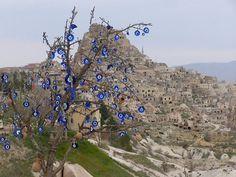 Tree of Evil Eyes. Turkey. Beautiful.