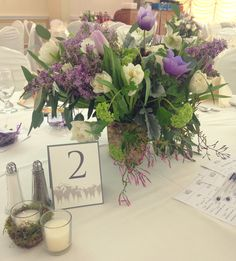 Beautiful floral arrangements created by @ehfloral