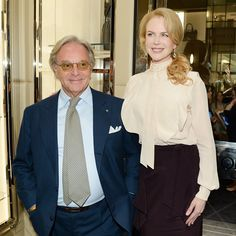 Diego Della Valle and Nicole Kidman celebrates the reopening of the Tod's New York boutique. #tods #madisonavenue #newyork #Padgram