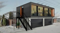 Honomobo Shipping Container Homes | DudeIWantThat.com