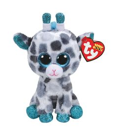 Claire's Ty Beanie Boo Medium Gia the Giraffe Plush Toy Ty Animals, Ty Stuffed Animals, Beanie Boo Dogs, Beanie Babies, Beanie Boos For Sale, Ty Beanie Boos Collection, Ty Peluche, Ty Babies, Ty Toys
