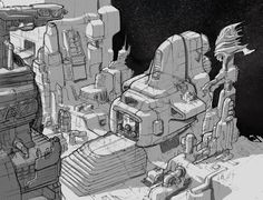 Space city. By Anwar Hanano