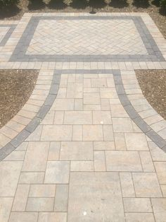Would you love your entryway to your home to look like this? This walkway features Cambridge Pavingstones with ArmorTec. Patio Ideas, Backyard Ideas, Garden Ideas, House Lift, Outdoor Stuff, Outdoor Decor, Country Kitchens, Walkways, Home Projects