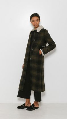 MM6 Maison Martin Margiela Military Overcoat | The Dreslyn