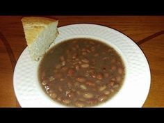 The Pinto bean is the Hillbilly-est of all Hillbilly foods. My granny used to crumble up a cut of cornbread and mix it up in a bowl of pinto beans with an on...