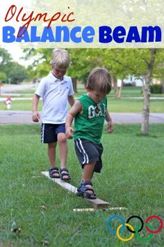 Olympic Balance Beam from I Can Teach My Child