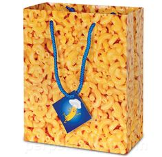 Macaroni and Cheese gift bag.