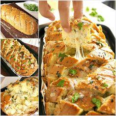 Enjoy This Delicious Stuffed Cheesy Bread
