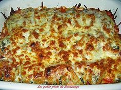 Shells with meat Bella Pasta, Diners, Hamburger, Food To Make, Shells, Muffin, Cheese, Meat, Recipes
