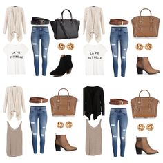Collage, Fashion Pics, My Love, Polyvore, Closet, Image, Life Is Good, Collages, Armoire