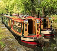 Canal Barge, Canal Boat, Narrow Boat, Floating House, Mode Of Transport, My Dream Home, Britain, United Kingdom, Boats