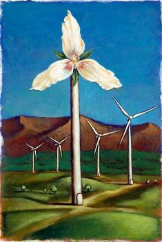 environmental pollution pictures drawing - Illustration of Wind Turbine as a Flower Stock Photo - Premium Royalty-Free, Code: Pollution Pictures, Wind Drawing, Reasonable Doubt, Environmental Pollution, Recycled Clothing, Sketchbook Ideas, Wind Power, Studio Art, Pictures To Draw