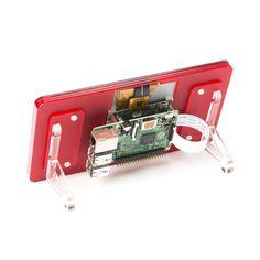 "Raspberry Pi 7"" Touchscreen Display with Stand - Pimoroni"