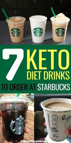 Try these low carb keto starbucks drinks, iced coffee, latte, americano, macha and more keto drinks at starbucks! #keto #ketodiet #ketogenic #ketogenicdiet