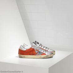 d3580c4489d7 Golden Goose Super Star Sneakers Pelle con stella di pelle €95.29 Golden  Goose Homme