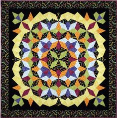 Dragonfly Dance Quilt Pattern DFQ-106 (intermediate, twin)