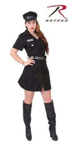Rothco Womens Black Police Costume XSmall *** You can get more details by clicking on the image.