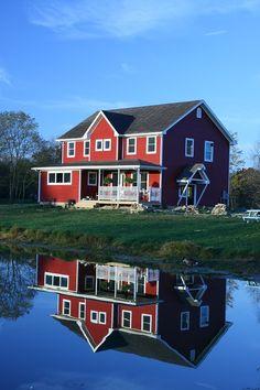 My red farmhouse