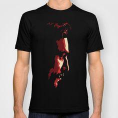 Daniel Day Lewis Digital illustration T-shirt by Parveen Verma - $22.00