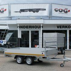 Eduard trailers plateauwagens in diverse soorten en maten, enkelasser dubbelasser en tridem leverbaar. Van Gog