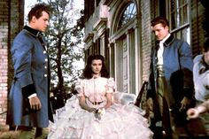 """Anti-Southern Purge Targets Military Bases, """"Gone With the Wind"""" http://sumo.ly/88oI GONE WITH THE WIND, Fred Crane, Vivien Leigh, George Reeves, 1939"""