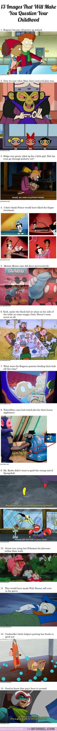 13 images that will make you question your childhood