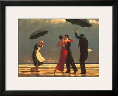 The Singing Butler Print by Jack Vettriano at Art.com
